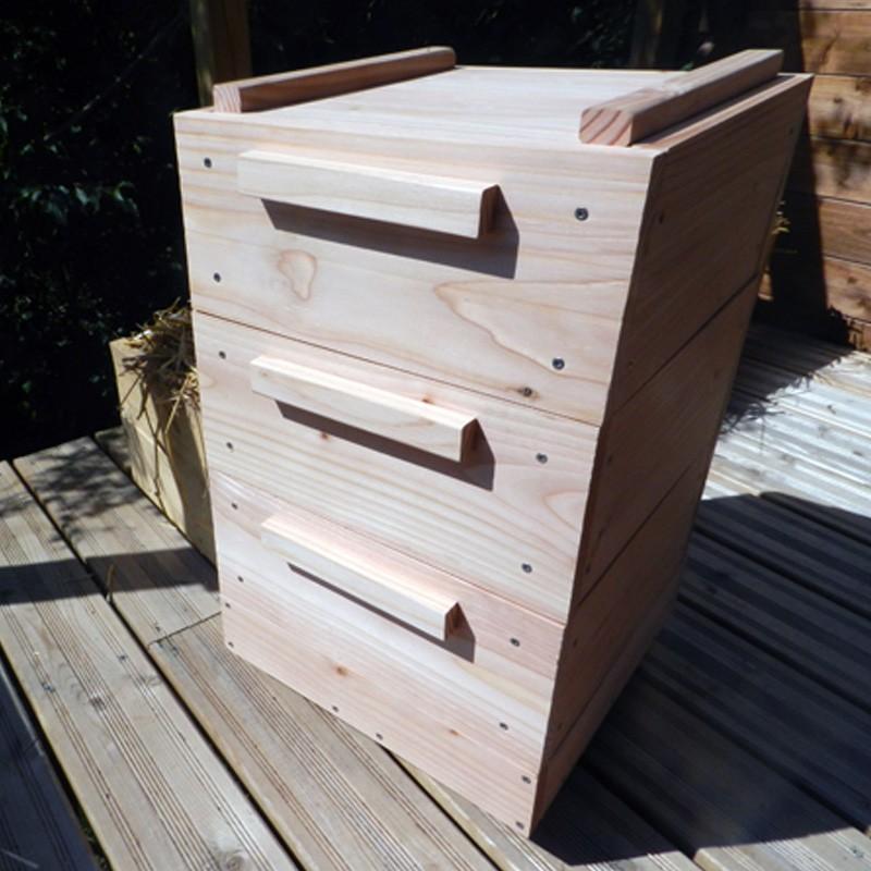 Boîte à Terre en kit – 3 plateaux